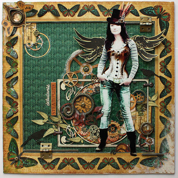 Steampunk Graphic 45