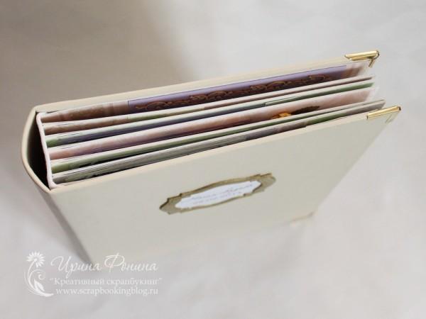 Свадебный фотоальбом - обложка и переплет