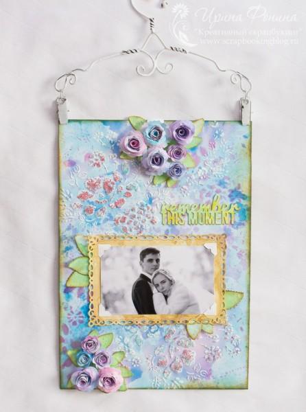 Рамка-панно со свадебной фотографией