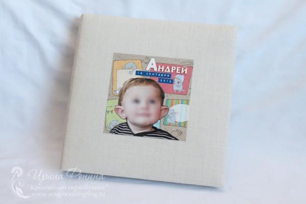 Альбом первого года жизни для мальчика