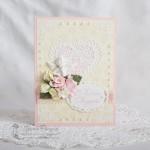 """Открытка """"В день свадьбы"""" с ангелочком"""
