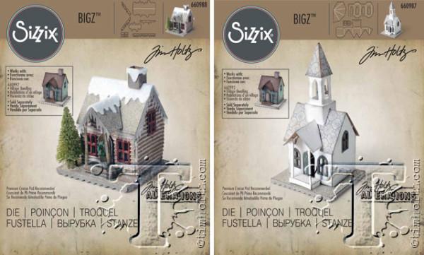 Sizzix bigz village