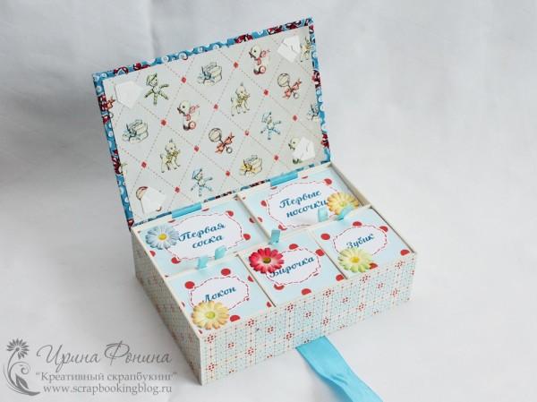 Мамины сокровища - коробочка для памятных вещиц
