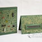 Комплект для сисадмина - блокнот и открытка