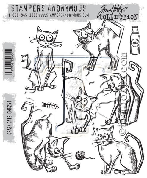 Штампы Crazy Cats