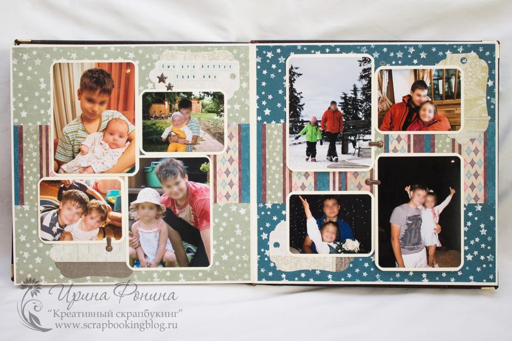 Фотоальбом для сына своими руками 27