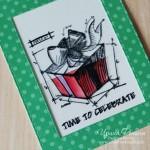 Необычная открытка-слайдер