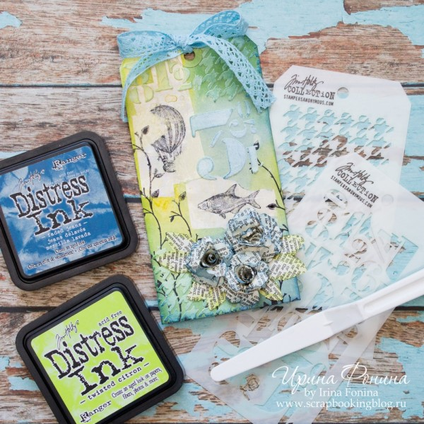 Tim Holtz - 12 Tags of 2016 - May