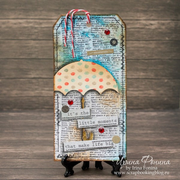 Tim Holtz - 12 Tags of 2016 - June