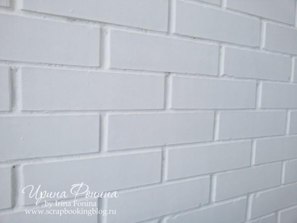 Кирпичная стена - фотофон