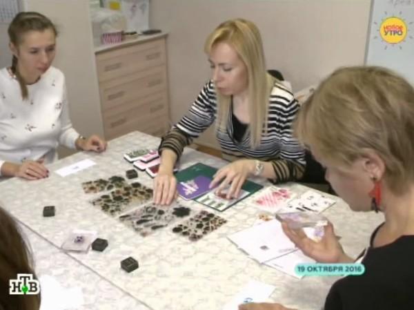 Студия Креативный скрапбукинг на НТВ - сюжет про скрапбукинг