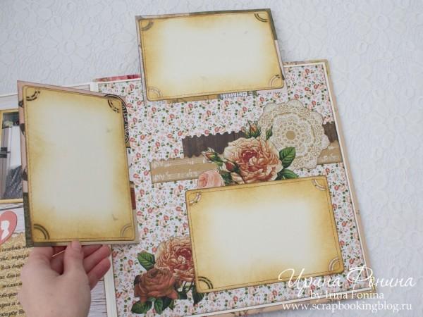 Альбом на золотую свадьбу - больше фото