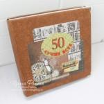 Скрапбукинг: альбом мужу 50 лет - Лучше всех