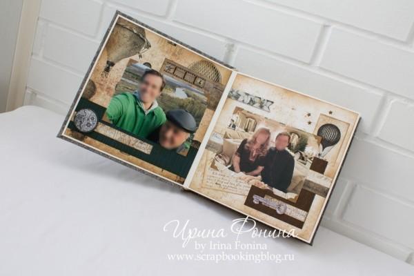 Альбом ручной работы - подарок мужчине - 3