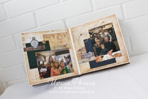 Альбом ручной работы - подарок мужчине - 4