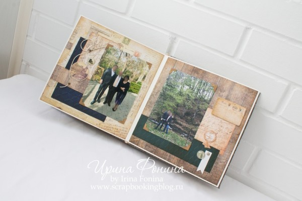 Альбом ручной работы - подарок мужчине - 6