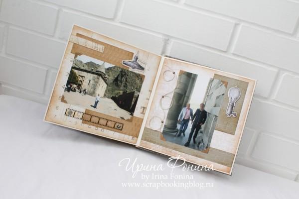 Альбом ручной работы - подарок мужчине - 7
