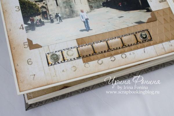 Альбом ручной работы - подарок мужчине - детали 4