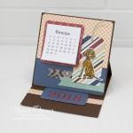 Настольный календарь на 2018 год с собакой
