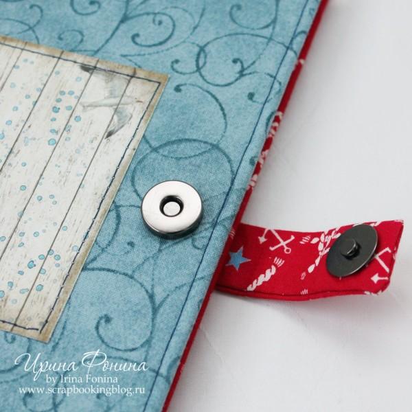 Travel book - блокнот путешественника - магнитная застежка