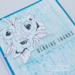 Altenew Painted Flowers Card 2 - Inking