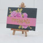 Altenew Vintage Roses Card Congrats