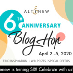 Altenew 6th Anniversay Blog Hop
