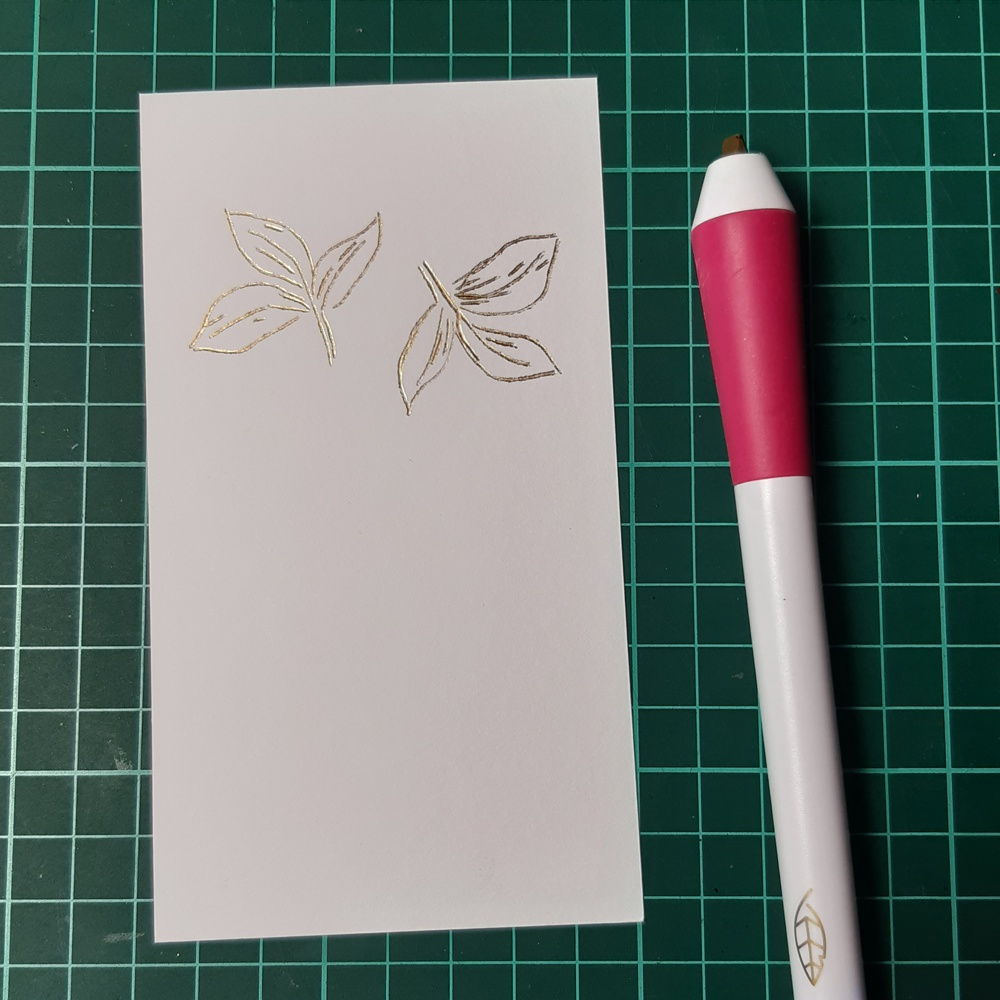 Foil Quill Freestyle Pen with Stamping - 2