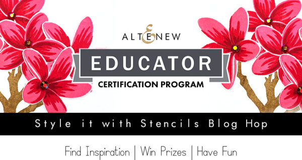 Altenew Educators Blog Hop - Style It With Stencils - 5