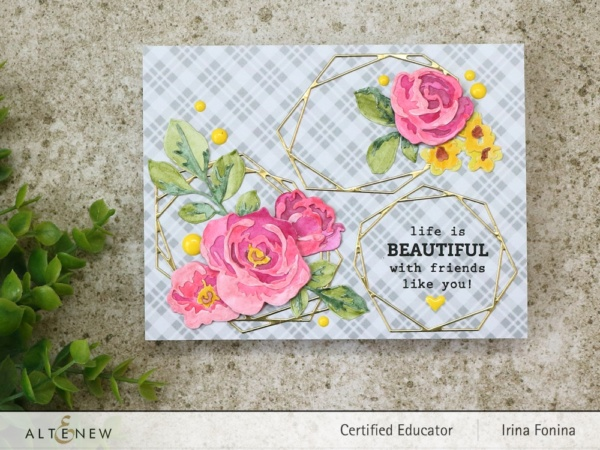 Altenew Blog Hop - Life is Beautiful Card - 1