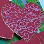Открытка-валентинка P.S. I Love You - сердце