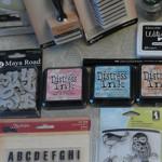 Посылка из магазина Simon Says Stamp