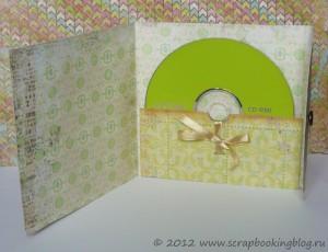 Конверт для CD - вид внутри