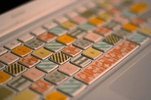 Washi Tape на клавиатуре