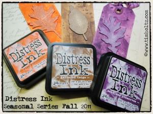 Сезонные чернила Distress Ink - Осень