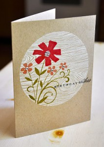 Текстура дерева - открытка