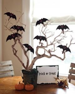 Дерево на Хеллоуин