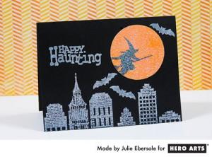 Хеллоуин: открытка
