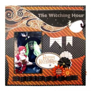 Скрапбукинг о Хеллоуине: костюмы