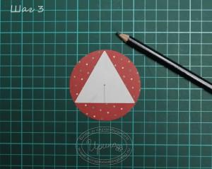 Елочный шарик - шаг 3
