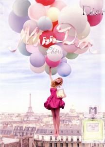 Реклама Miss Dior