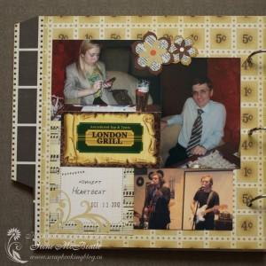 Страница про концерт в фотоальбом про 2012 год