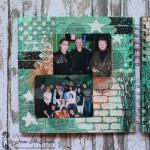 Альбом микс-медиа другу на 50-летие