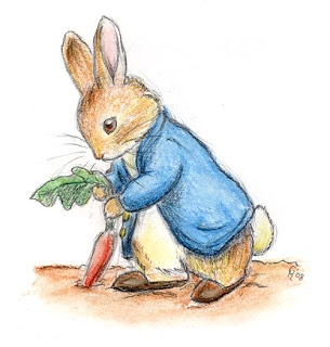 Герой сказок, кролик Питер - Peter Rabbit