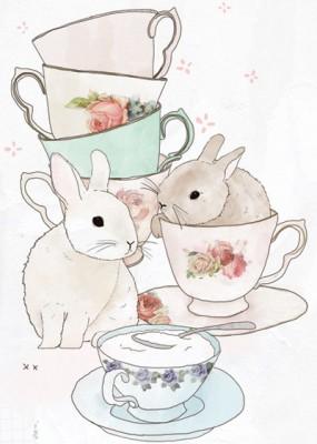 Картинка с кроликами