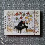 Памятный альбом в подарок учителю музыки