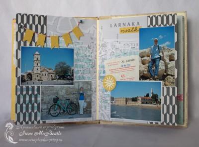 Альбом про Кипр: страницы про поездку в Ларнаку