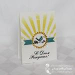 Открытка на день рождения «Утренняя птичка»