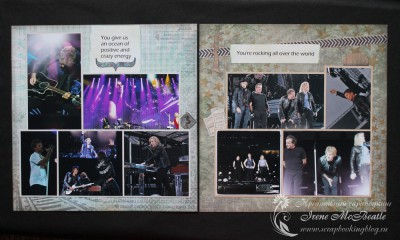 Альбом для Bon Jovi - гастроли