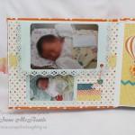 Детский фотоальбом: фото из роддома